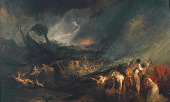 The Deluge (1805) by J M W Turner