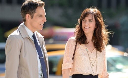 Ben Stiller and Kristen Wiig as Walter and Cheryl