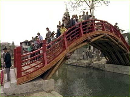Stone Arch Bridge Design Jinze Rainbow Bridge, ...