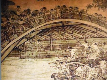 Kaifeng bridge c.1100