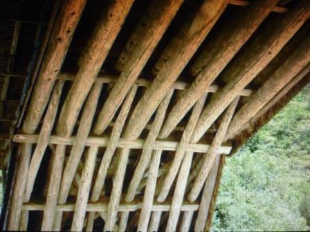 The Woven Timber Arch-Beam Structure of Santiao Bridge built in 1843