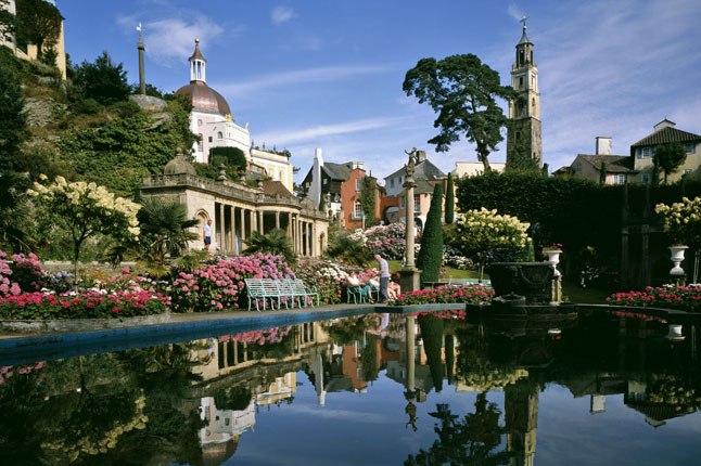 Portmeirion, Wales - home of The Prisoner